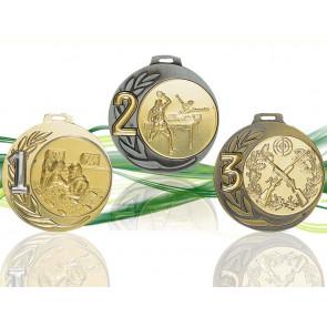 Médaille avec classement or argent et bronze MC7