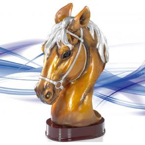 Trophée équitation cheval tete concours
