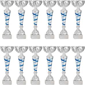 Promo coupes en lot de 12 compétition concours equestre hippique vainqueur
