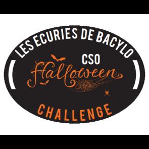 dessin de halloween pour flot et plaque de concours equitation