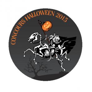 nouveau design halloween pour cocarde flot equitation et plaques assorties