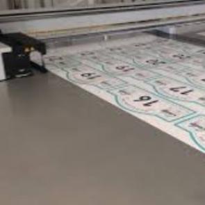 Impression de maquette, prototype de plaques de rallye automobile
