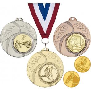 Médaille promo concours equitation & tous sports poney cheval champion