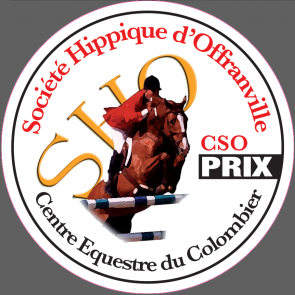 plaque metal alu ronde concours suat obstacle dressage poney