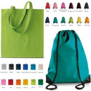 Sacs couleurs personnalisables choix remise prix evenements publicitaire