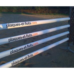 Stickage autocollant barre CSO obstacle équitation concours cheval