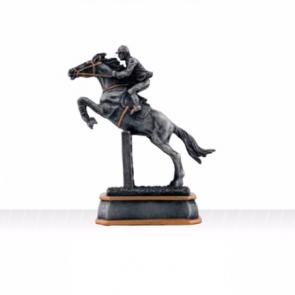 Trophee équitation CSO cheval cavalier sautant obstacle