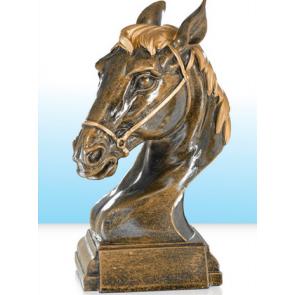 Trophée tete de cheval poney concours equestre