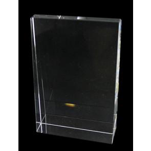 Trophée verre gravable 14x10,5