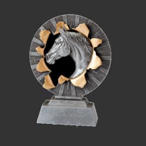 Trophees DRESSAGE concours equitation prix vainqueur personnalisable ELEVAGE CSO  10cm