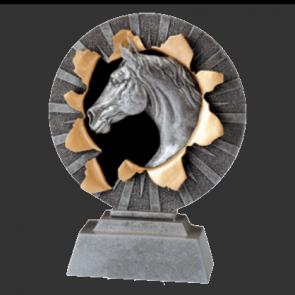 Trophees concours equitation prix vainqueur personnalisable CSO DRESSAGE
