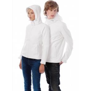 Veste à capuche en softshell équitation